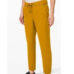 Lululemon Fools Gold The Fly 7/8 Pant *woven